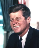 JFK 1960 - 1963; New Frontiers raised hopes & expectations We're going to the moon!