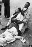 Selma 1965 Bloody Sunday; Robinson beaten on bridge by police